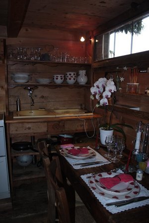Les Chalets de Philippe : Le rez-de-chauss 