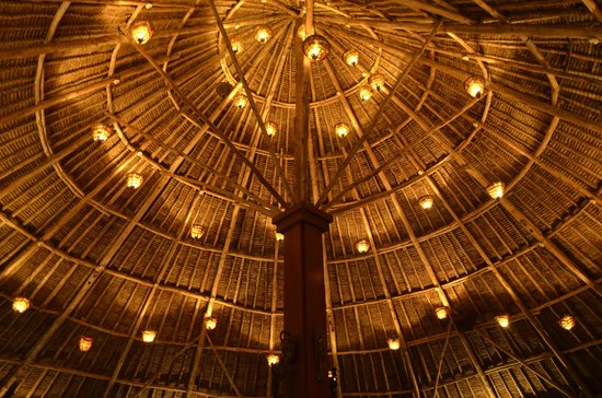 The Sands At Chale Island: Restaurant roof