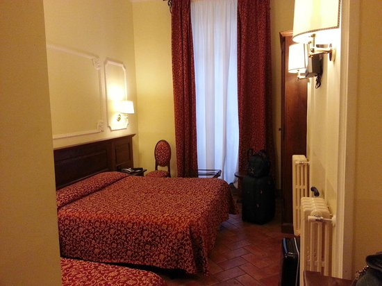 Hotel California Florence: stanza