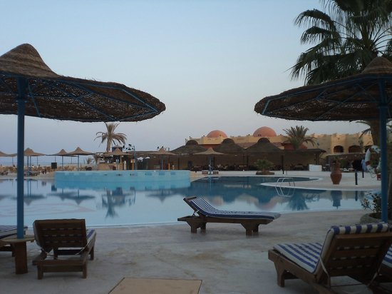 Blue Reef Red Sea Resort: vista dalla camera nella quale soggiornavo