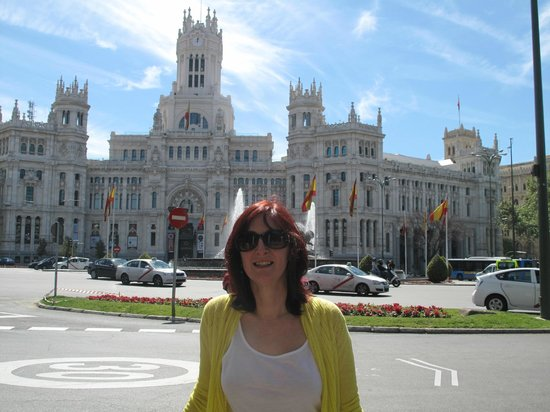 Regione di Madrid, Spagna: The Tourist Info Centre & Sight seeing tour tower