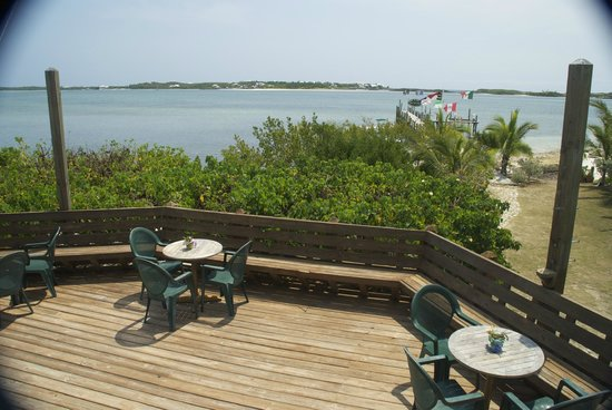 Great Abaco Island: Bar with a view