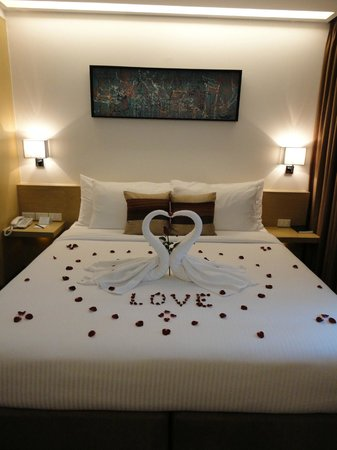 CityPoint Hotel: Honeymoon room