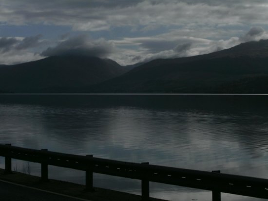 Inveraray, UK: View from outside hotel
