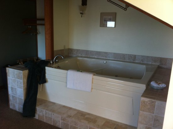 The Heron Inn & Day Spa: The amazing bathtub!