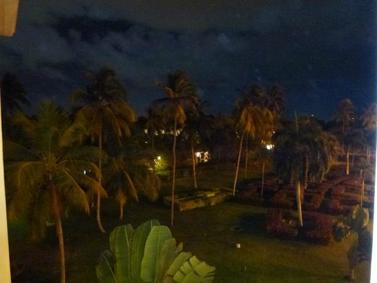 Riu Palace Punta Cana: Grounds at night