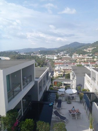 Sugar Palm Grand, Hillside : höjd skillnad