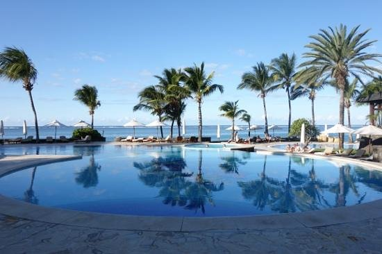 The Residence Mauritius: One of the pools.