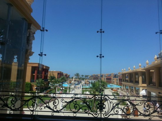 Titanic Beach Spa &amp; Aqua Park: view out of Titanic Palace reception