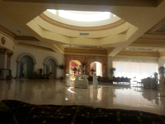 Titanic Beach Spa &amp; Aqua Park: Palace reception again