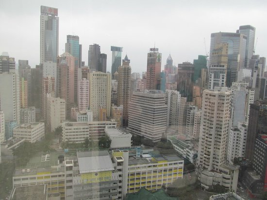 Cosmo Hotel Hong Kong: View From my room 2605