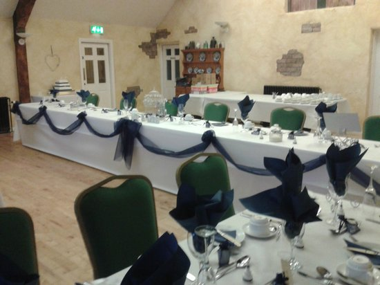 Ballinderry Inn: Our Wedding reception
