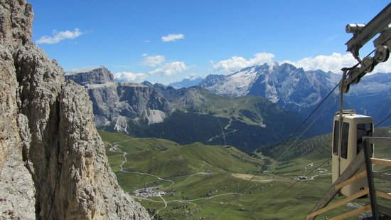 Val Gardena, Italien: Marmolada ed il Gruppo Sella