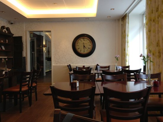 Clarion Collection Hotel Mayfair: Une partie de la salle a manger