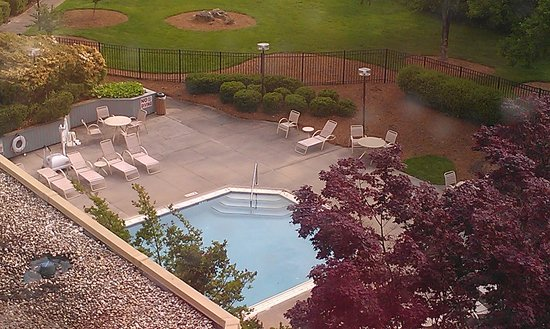 Greensboro-High Point Marriott Airport: view from our room