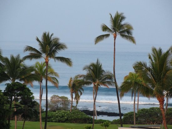 Hilton Waikoloa Village: View from &quot;Partial Ocean View&quot; room