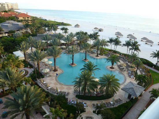 Marco Island Marriott Resort, Golf Club & Spa: Piscine et jacuzi