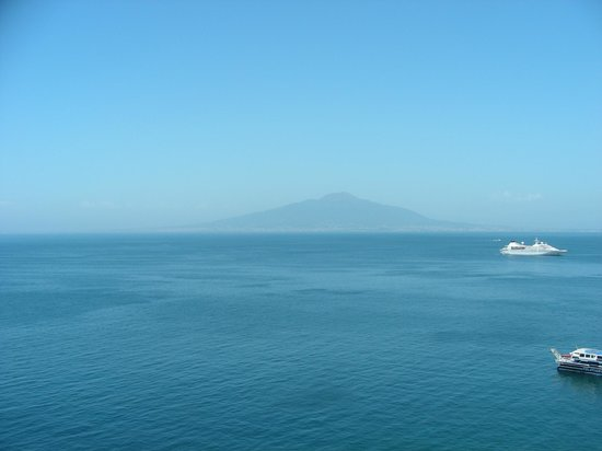 Hilton Sorrento Palace: view from our room