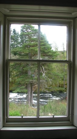 View of the falls from the Den room - The Old Smiddy, Killin