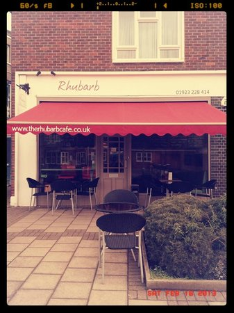 Watford, UK: The Rhubarb Cafe