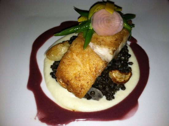 Fish Entree at Keystone Ranch