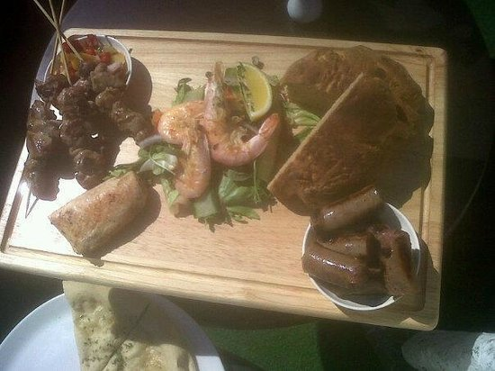 Altrincham, UK: Antipodean platter