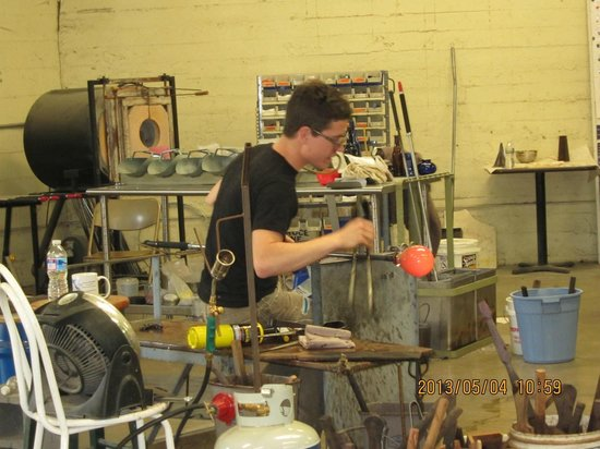 Staunton, VA: Glass blower, no 2 of 2