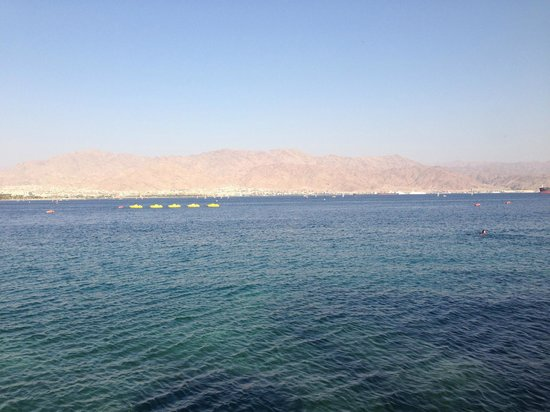 Le Meridien Eilat: View from pool