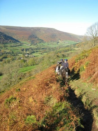 Abergavenny, UK: Heading up to the top