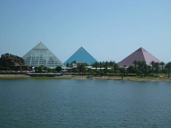 Galveston Island, TX: Moody Garden Pyramids