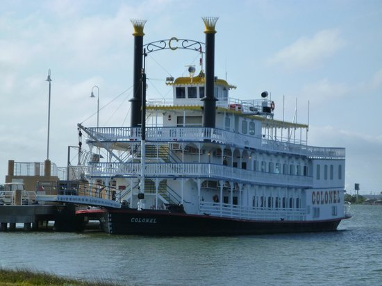Galveston Island, TX: Paddle boat