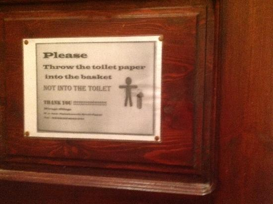 The Mirage Village Hotel: No Toilet Bin Emptied