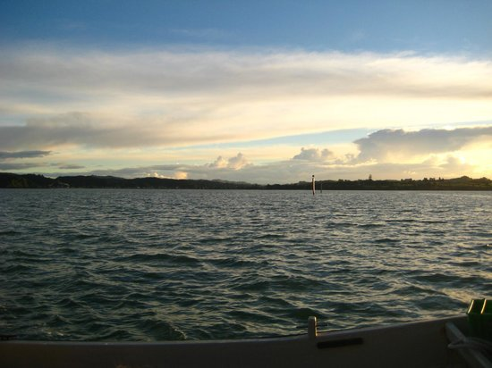 Paihia, Selandia Baru: Anchor overnight in the Bay of Islands