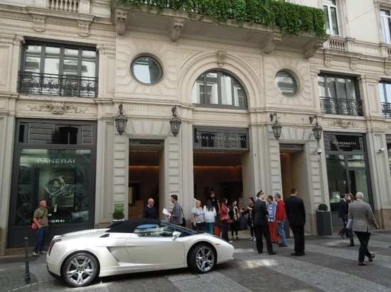 Park Hyatt Milan: We were there during the Lamborghini 50th anni celebrations