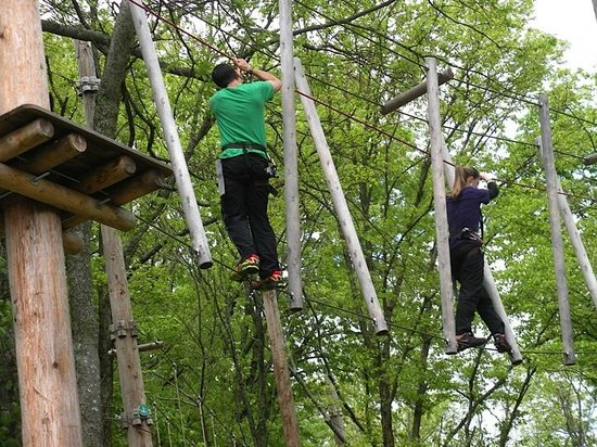 Hermitage, TN: Nashville Shores ropes course