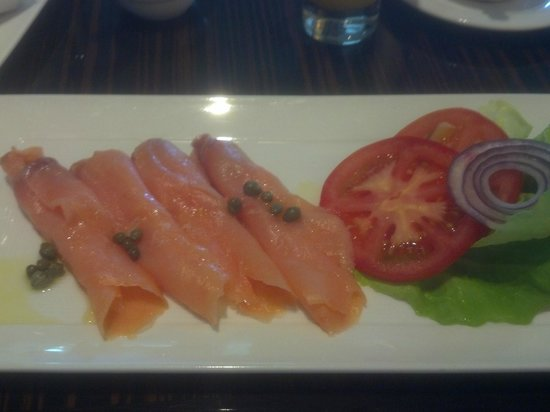 The Westin Boston Waterfront: Breakfast lox