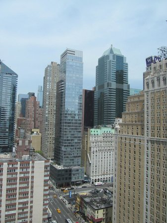 InterContinental New York Times Square: View from 25th floor room