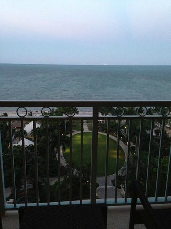 The Ritz-Carlton Key Biscayne, Miami: ocean front club level room balcony