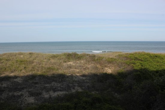 Ramada Plaza Nags Head Beach : Balcony view 