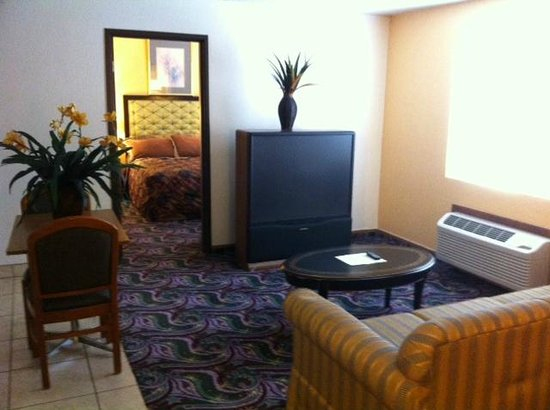 Bullhead City, AZ: The Deluxe Bedrooms have a large 50 inch screen TV.