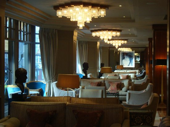 The Westbury Hotel : The Gallery lounge
