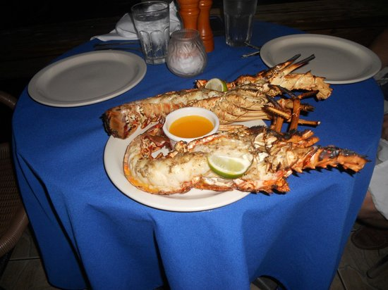 Spanish Town, Virgin Gorda: Lobster night