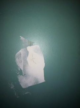 Elkton, MD: Example of wall spackle
