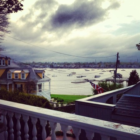 Marblehead, Массачусетс: View from deck