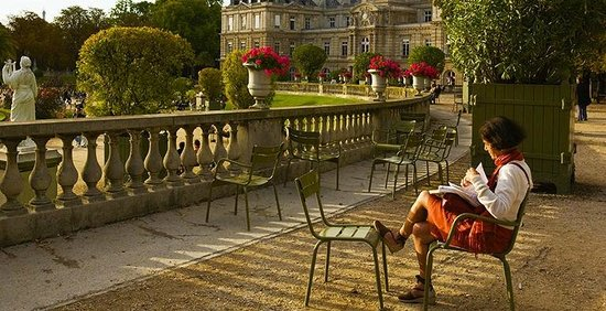 Paris, France : Jardin du Luxembourg