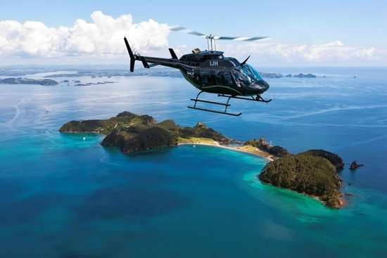 Paihia, Selandia Baru: Salt Air Tours, Bay of Islands