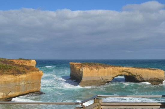 Port Campbell, Australie : london bridge 