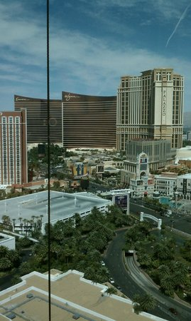 The Mirage Hotel &amp; Casino: view from our room