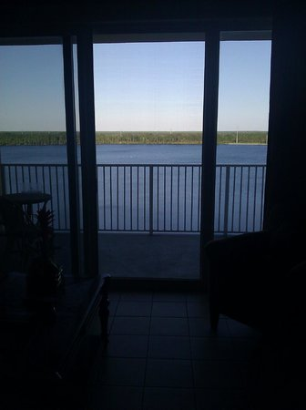 Blue Heron Beach Resort: View from the living room