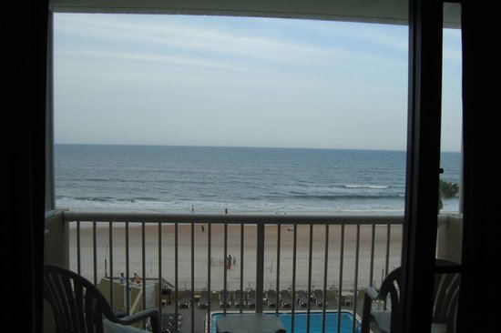 The Maverick: Oceanfront - View from the inside